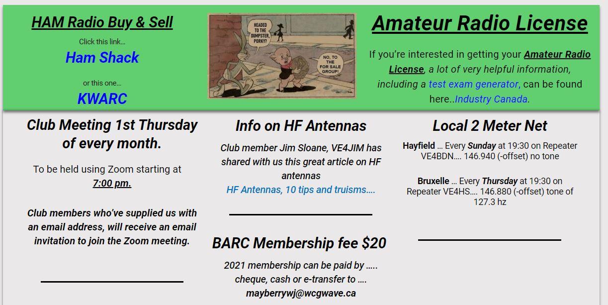 Brandon Amateur Radio Club